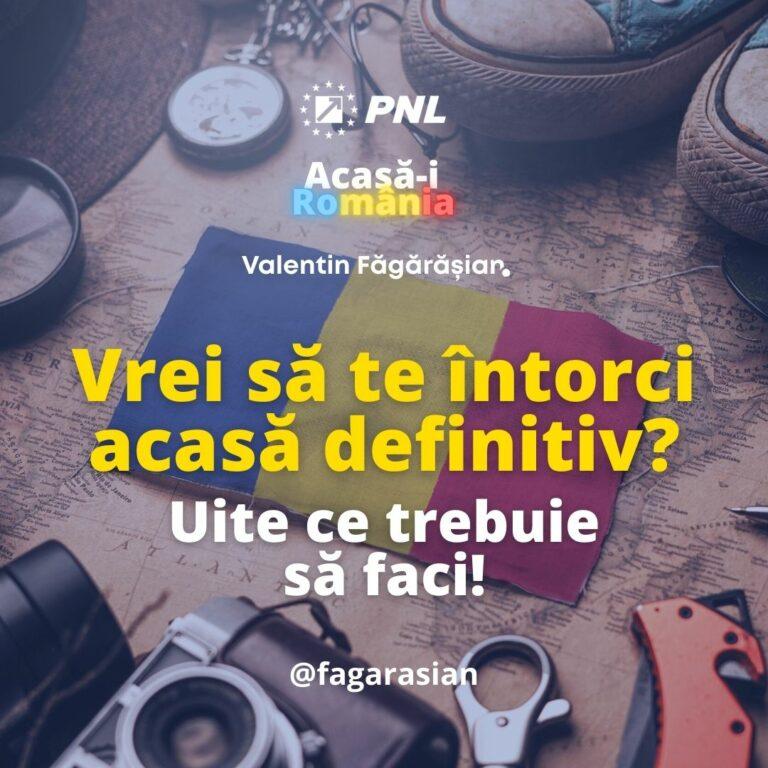 întoarcerea definitivă în România, ce trebuie să faci