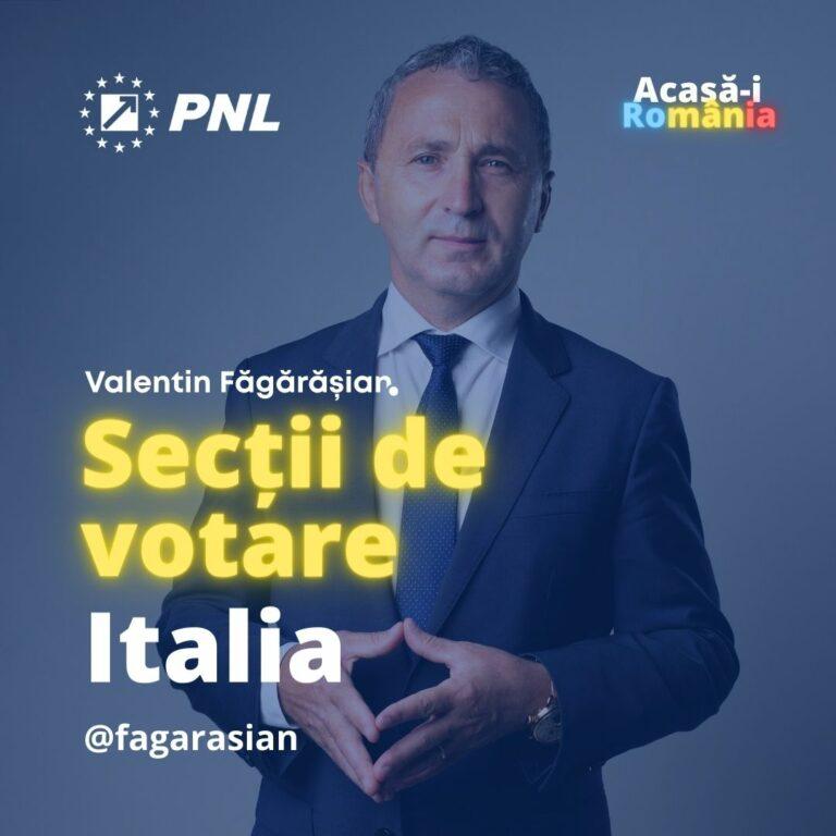sectii de votare italia
